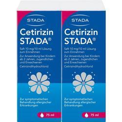 CETIRIZIN STADA Saft 10 mg/10 ml