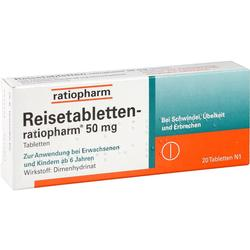 REISE TABLETTEN ratiopharm