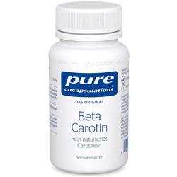 PURE ENCAPSULATIONS Beta Carotin Kapseln