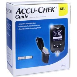 ACCU CHEK Guide Blutzuckermessgerät Set mg/dl